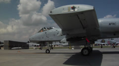 A-10 303rd Fighter Squadron Deploys to Afghanistan Stock Footage