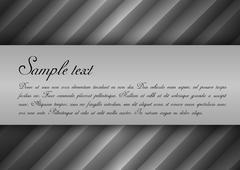 Gray elegance Stock Illustration