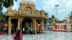 India Federal State of Karnataka City of Mangalore 027 Kudroli Gokarnath Temple Stock Footage