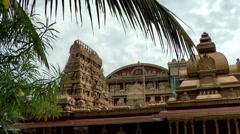 India Federal State of Karnataka City of Mangalore 024 Kudroli Gokarnath Temple Stock Footage