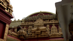India Federal State of Karnataka City of Mangalore 026 Kudroli Gokarnath Temple Stock Footage
