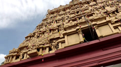 India Federal State of Karnataka City of Mangalore 025 Kudroli Gokarnath Temple Stock Footage