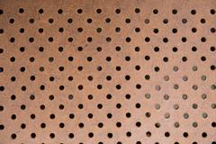 ventilated wood photo backdrop. wooden background. - stock photo