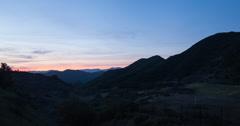 Santa monica sunrise 2 Stock Footage