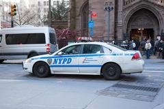 New York City Police Car - stock photo