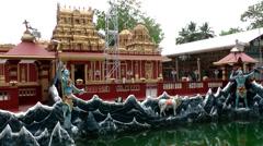 India Federal State of Karnataka City of Mangalore 022 Kudroli Gokarnath Temple Stock Footage