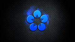 Tumma Logo Reveal Kuvapankki erikoistehosteet