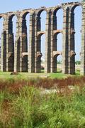 aqueduct - stock photo