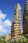 rock spire - stock photo