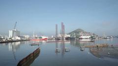 Port. Rio de Janeiro. Brazil Stock Footage