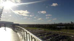 1404043 - Panaramic view of Recife city, Pernambuco, Brazil Stock Footage