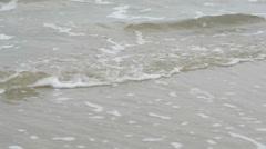 Break-wave of the Baltic sea Stock Footage