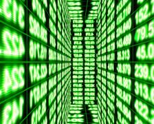 Data Storm 0409 - PAL Stock Footage