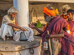 Free food in Rishikesh Kuvituskuvat