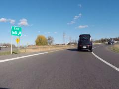Offramp, Highway Exit, Leaving Stock Footage