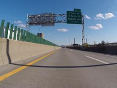 Driving on Highway, Freeway, Expressway Stock Footage
