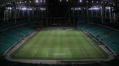 1404093 - Arena Fonte Nova, Salvador, inside empty stadium, field, game day Stock Footage