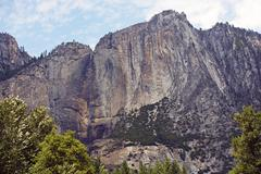 Yosemite falls. the highest measured waterfall in north america. yosemite nat Stock Photos