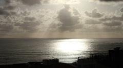 1404128 - Fortaleza, timelapse ocean sunset Stock Footage