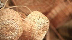 Crafts. Textures Stock Footage