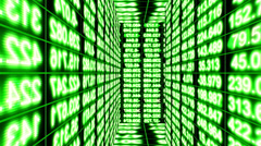 Streaming Numbers Maze, Data Storm 0409 - HD, 4K Stock Footage