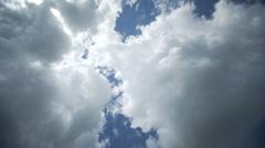 Clouds timelapse springtime-7 Stock Footage