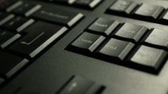 "Press the""delete"" key on keyboard Stock Footage"