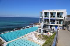 Bondi Icebergs club & swimming pool Stock Photos