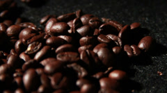 1573 Coffee Beans in Slow Motion  Stock Footage