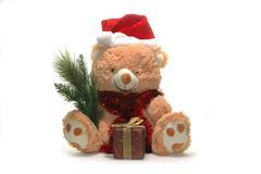 Christmas toy bear Stock Photos