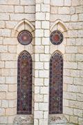 Gaudi palace in astorga, leon, spain Stock Photos