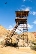 Old mine in mazarron, murcia, spain Stock Photos