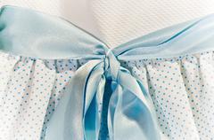 blue tie - stock photo