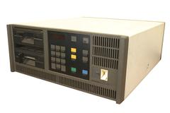 dumb terminals controller. - stock photo