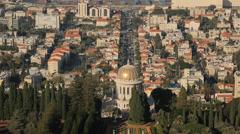 Panoramic View of Jaffa Stock Footage