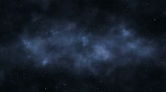 Through the Outer Space Stock Footage