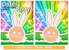 Stock Illustration of Easter card