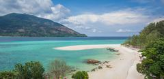 koh lipe famous island of thailand - stock photo