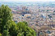 Stock Photo of granada in andalucia, spain