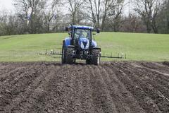 agricultural machinery - stock photo