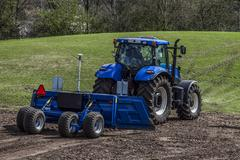 Stock Photo of agricultural machinery