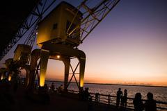 Belem waterfront Stock Photos