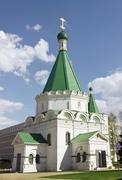archangel michael's cathedral. kremlin in nizhny novgorod - stock photo