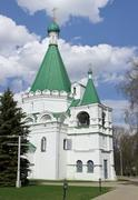 Archangel michael's cathedral in the kremlin in nizhny novgorod Stock Photos