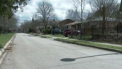 Residential area in Guelph, Ontario Stock Footage