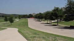 Heritage Neighborhood Ft Worth Texas Stock Footage