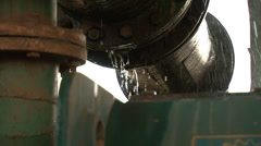 Water Dripping Off Boiler - stock footage
