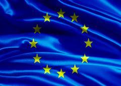 flag of european union - stock photo