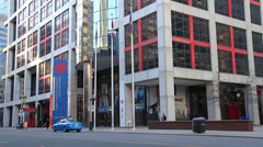 CBC Building Toronto Stock Footage