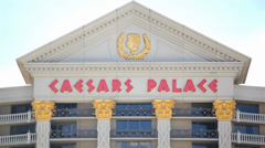 Caesars Palace 03 HD - stock footage